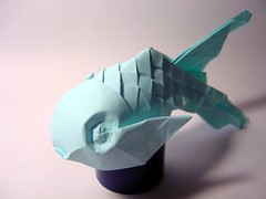 origami money fish | Dollar origami, Money origami, Origami koi fish | 180x240