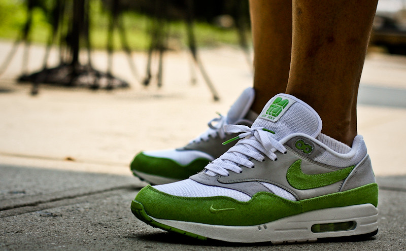 timeless design ba588 951d4 air max patta green