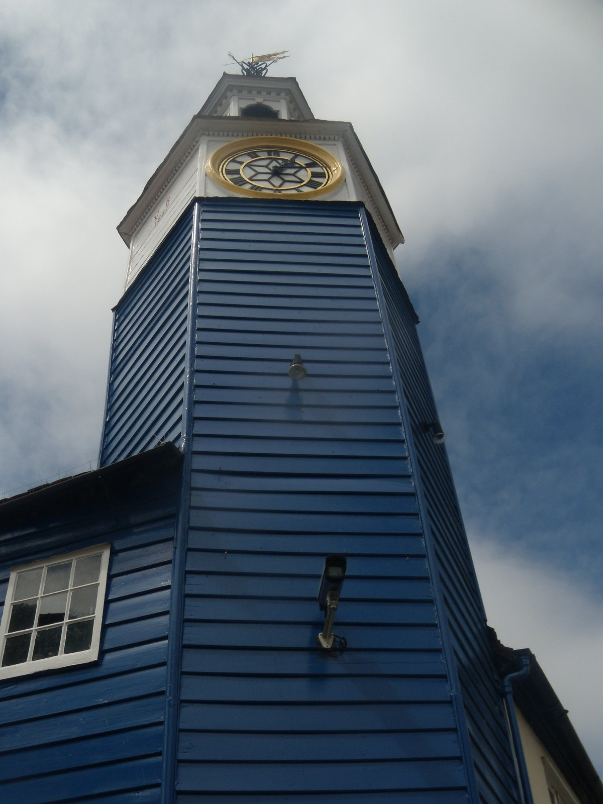 Clock tower Coggeshall Kelvedon circular