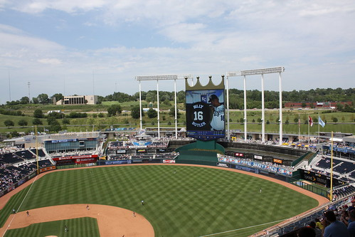 Kauffman Stadium | by jankm