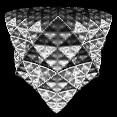winged-edge mesh subdivision (meshlab shading) | by toxi