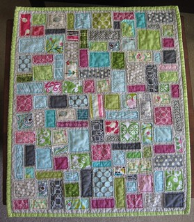 Tickertape Doll Quilt 3 | by teaginny