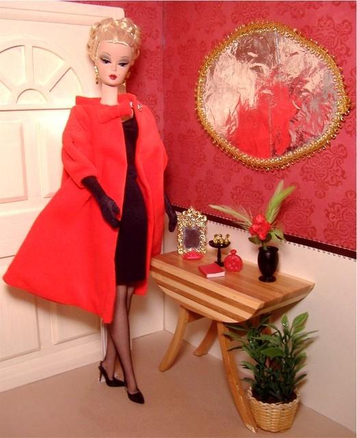Cecilia in Red Flare w black #1