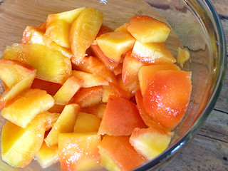 Sookie's Peach Sauce (Gilmore Girls Food and Geekery)   by River (Wing-It Vegan)