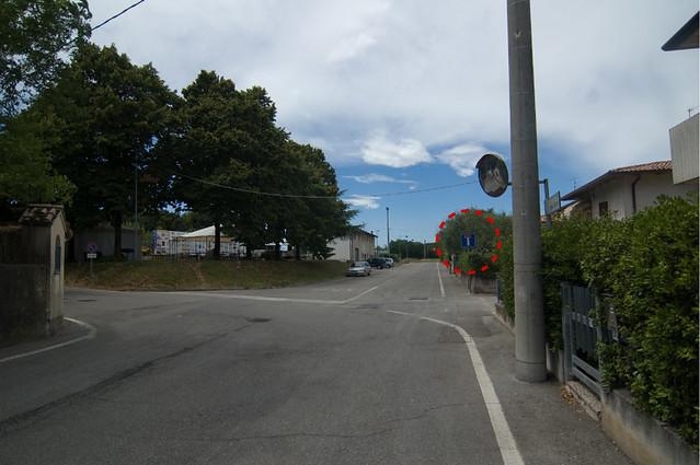 Go left in Monzambano?