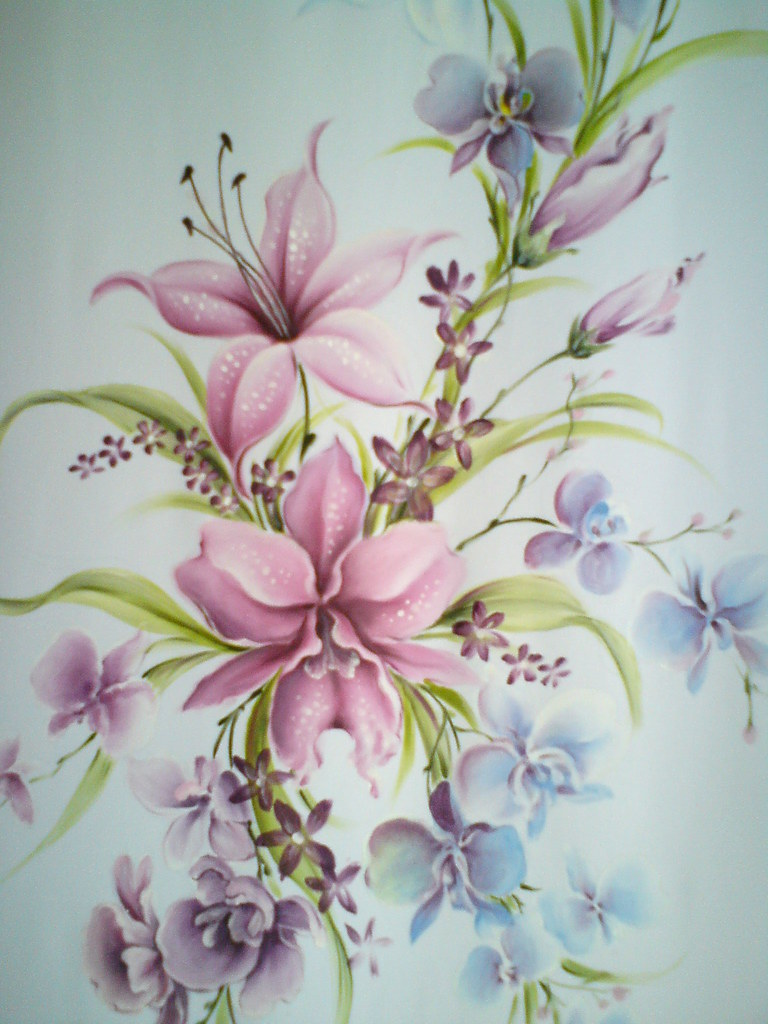 fabric painting on fashion & crafts LUKIS KAIN, KURSUS, CA  Flickr