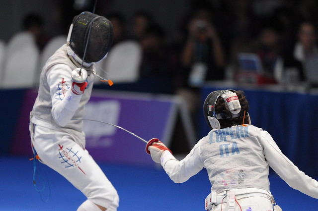 Day 4 Fencing (18 Aug 2010)