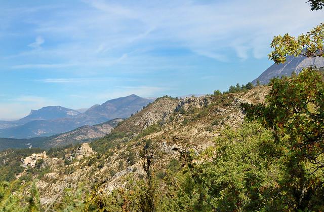 Sur la crête - Beynes (Alpes-de-Haute-Provence)