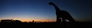 Ultrasaurus blue hour panorama | by Hexagoneye Photography