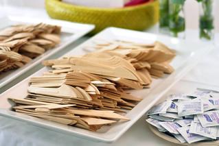 Bambu compostable flatware   by Foodista