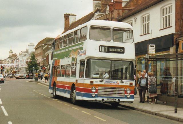 931, SNV 931W, Bristol VRT, ECW Body, 1981 (United Counties)