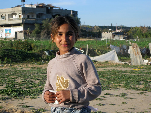 A young girl in Gaza | by World Bank Photo Collection