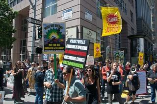 Make Big Oil Pay march to Chevron, EPA & BP 357