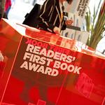 Edinburgh International Book Festival 2010 | Readers' First Book Award voting box at the Edinburgh International Book Festival