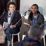 Marlene Van Neikerk and Kopano Matlwaat | Marlene Van Neikerk and Kopano Matlwaat Edinburgh International Book Festival 2010