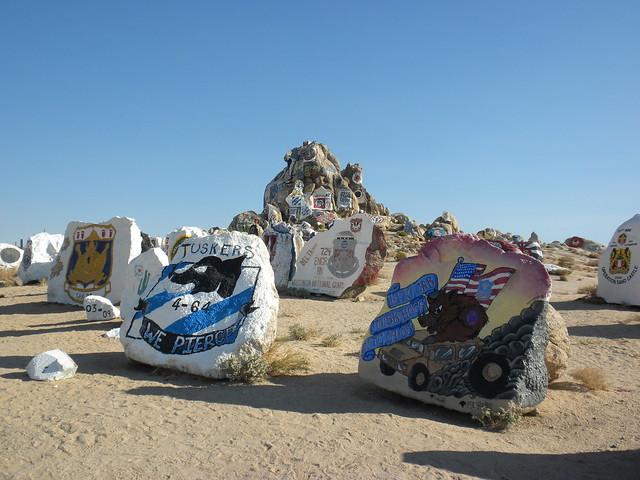 Painted Rocks - The Rockpile