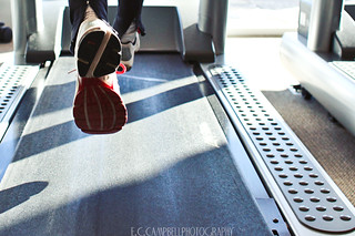 Running on a treadmill | by eccampbell