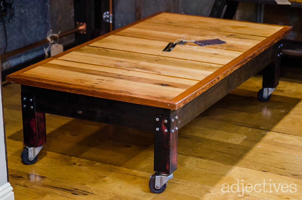 Hand Crafted coffee table by Urban Dzign in Adjectives Winter Park