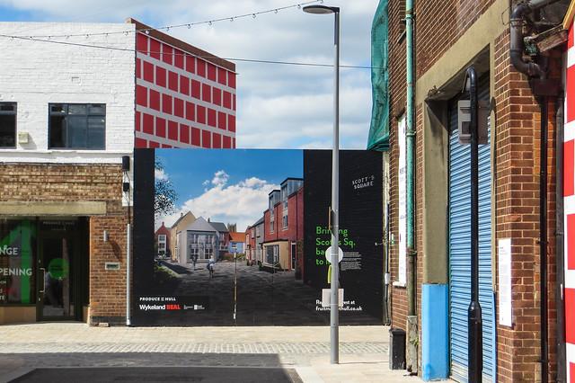 Regeneration of Scott's Square, Hull