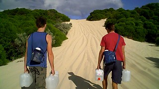 Brad and Ryan - Water Walk for Charity | by Exercise For A Cause