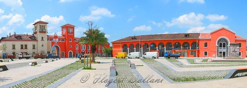 square panoramic piazza albania garibaldi tirana shqiperia panoramik shesh shqipëri tiranë panoramike