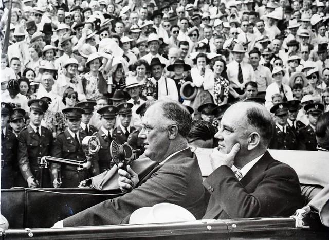 Roosevelt Visit to A&M