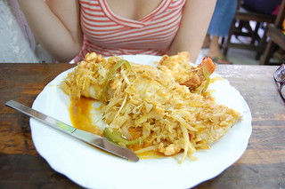 Day 2 Belize - lobster burrito! | by Carey...