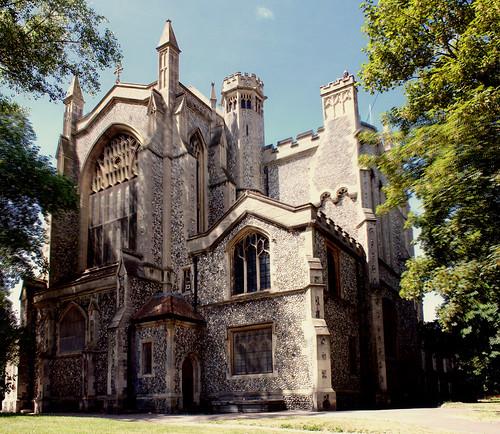 St Mary's Church Portsmouth Vertorama | by Hexagoneye Photography