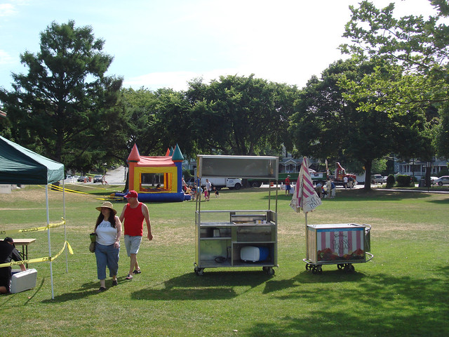 Fourth of July at Lake Quannapowitt; Wakefield, MA (2010)