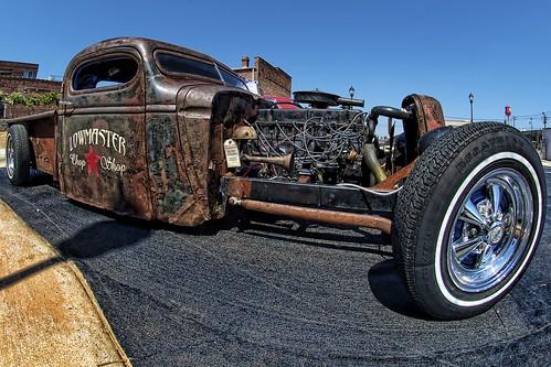 truck nc nikon rat northcarolina pickup pickuptruck fisheye hotrod hdr winstonsalem topaz ratrod hrw kustomkulture heavyrebelweekender dougjohnson d700 topazadjust