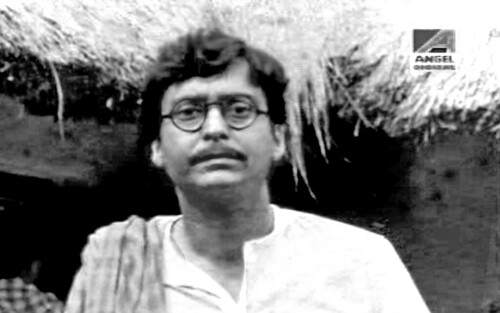 soumitra chatterjee in distant thunder ,a film by satyajit ray