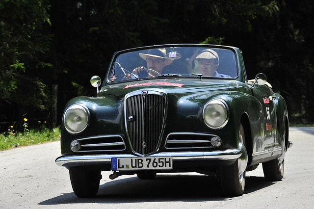CAUTION► All kinds of publication and commercial usage are prohibited & illegal ! ◄ Lancia Aurelia B 52 1951 Hess :: eu-moto classic sports cars © Egger 2408