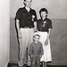 ALC 51.3.2 f.9 5 Luther League Conventions Photographs.  Texas A&M, College Station, TX 'God's Love - My Life' 1955 - The McBirney Family