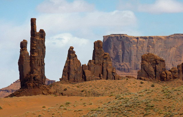 The classic splendor of Monument Valley