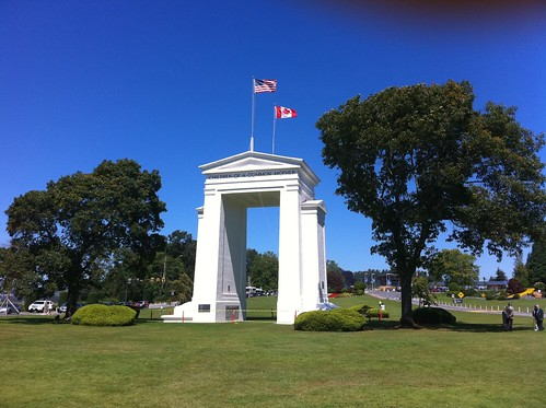 At the peace arch today. | by J.P.'s Photos
