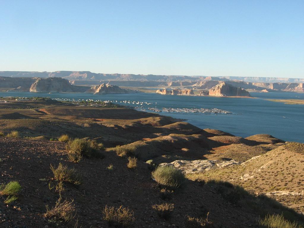 Wahweap Marina, Lake Powell, Glen Canyon National Recreation Area, near Page, Arizona