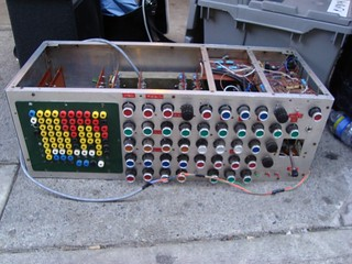 Trevor Pinch's early 1970's-vintage synthesizer