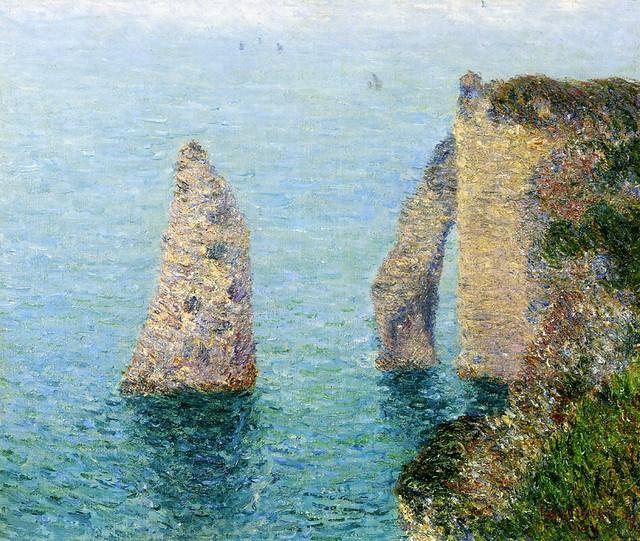 Gustave Loiseau - La falaise d'Étretat