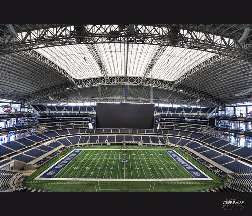 Cowboys Stadium 2010   by Cliff_Baise