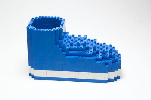 Model #6: Blue Shoe
