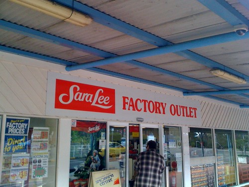 Sara Lee factory outlet - day 14 | by acivillibrarian
