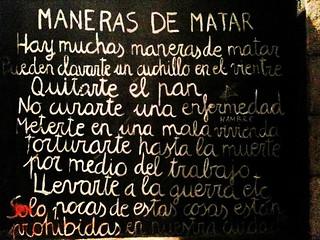 Maneras De Matar Alvaro Millan Flickr