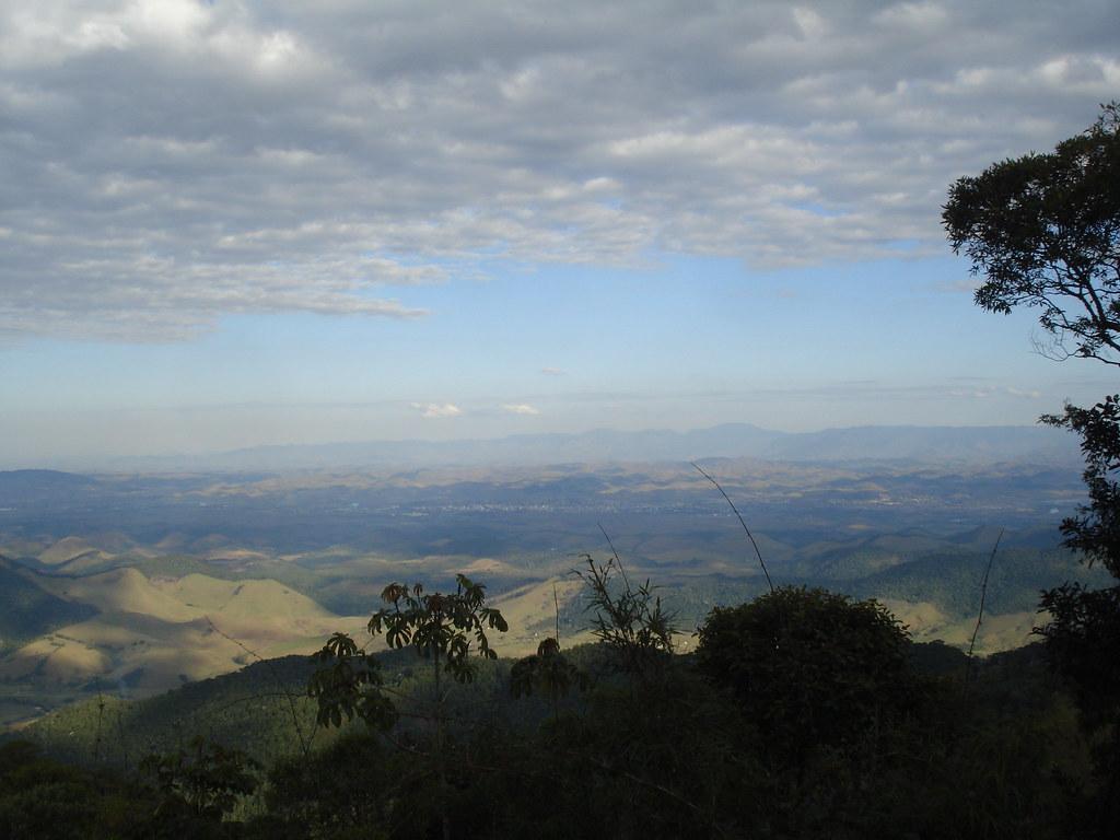 Vista da serra de Visconde de Mauá