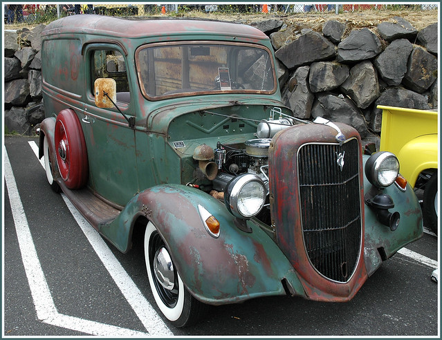 1936 Ford Delivery Truck
