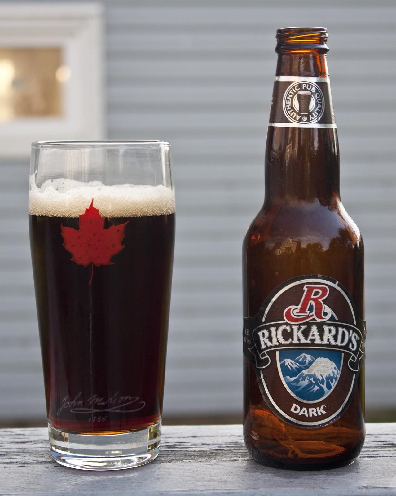 25/52! Rickards Dark Ale