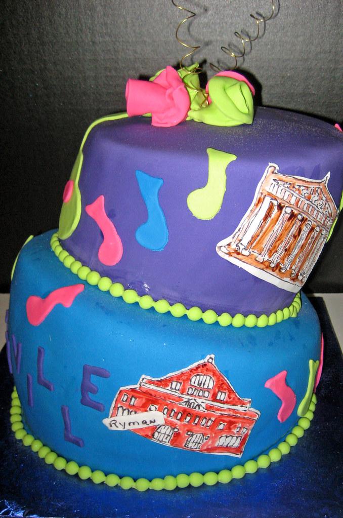 Nashville TN Birthday Cake