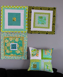 a pillow and a quilt | by Darci - Stitches&Scissors