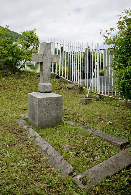 函館外国人墓地 06 Peter Heinrich Georg Schluter 1824-1882