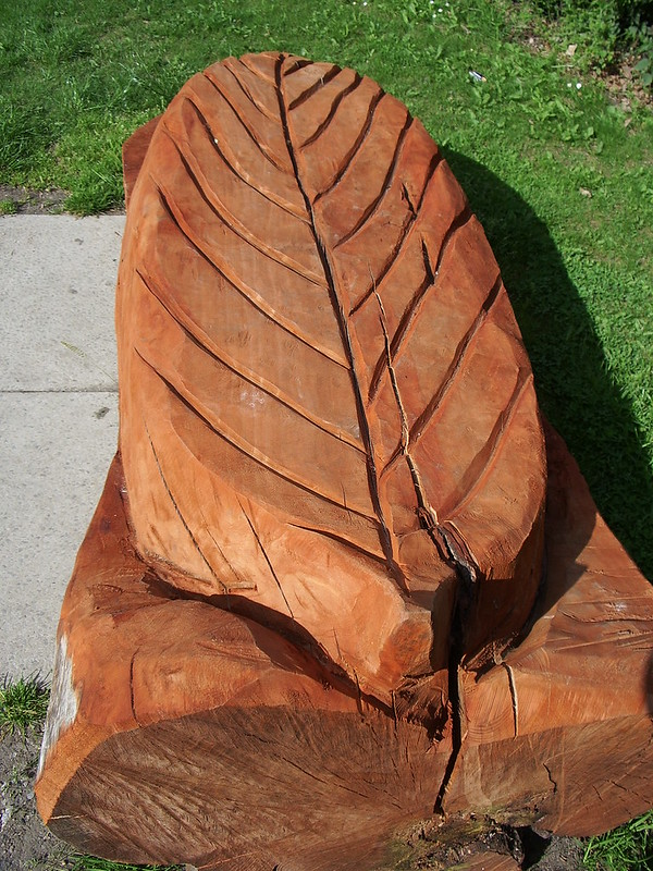 Carved Leaf