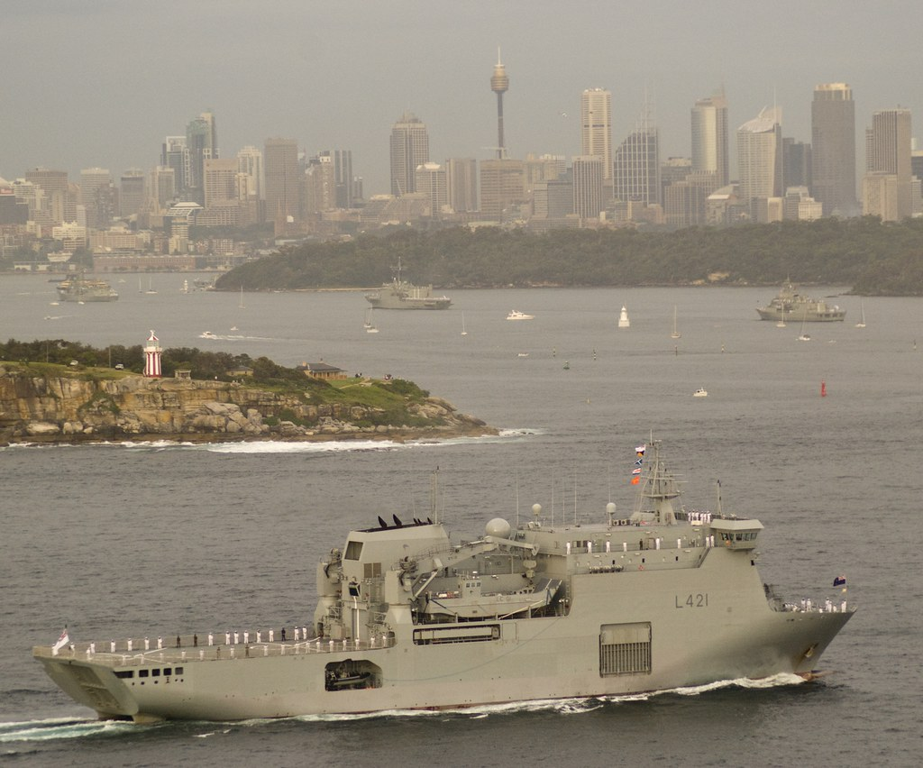 Current and Recent RAN Ships, by Glenn Crouch, No. 15, HMNZS CANTERBURY joins in.